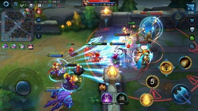 Heroes Evolved - juego MOBA en Android