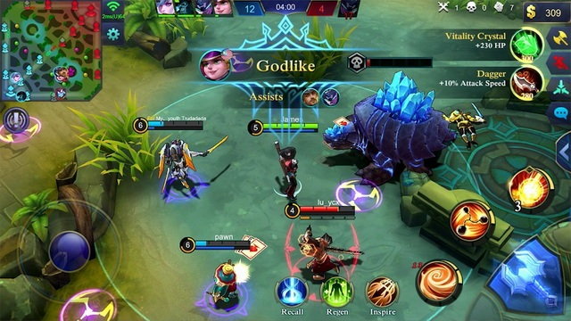 Mobile Legends - juego MOBA en Android
